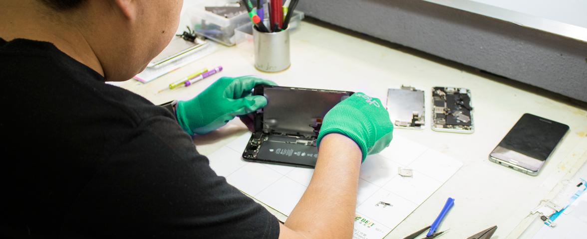 Reparador de iPhones en Guatemala